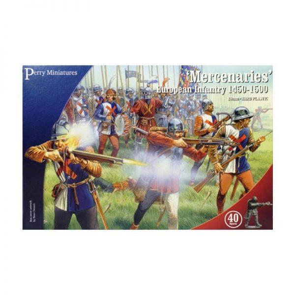 Perry Miniatures   Perry Miniatures Mercenaries; European Infantry 1450-1500 - WR20 - WR20