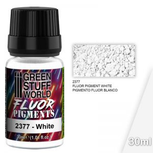 Green Stuff World   Fluorescent Pigments Pigment FLUOR WHITE - 8436574507362ES - 8436574507362