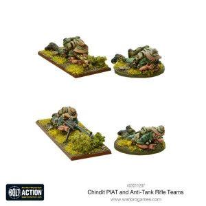 Warlord Games Bolt Action  Great Britain (BA) Chindit PIAT and anti-tank rifle teams - 403011207 - 5060393708360