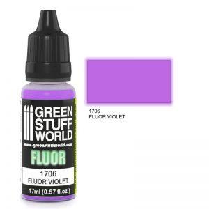 Green Stuff World   Fluorescent Paints Fluor Paint VIOLET - 8436574500653ES - 8436574500653
