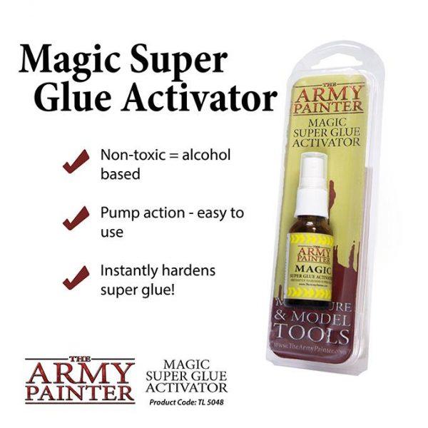The Army Painter   Glue Army Painter Super Glue Magic Activator - APTL5048 - 5713799504806