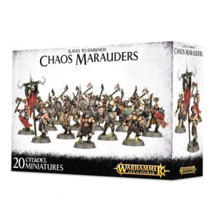 Games Workshop (Direct) Age of Sigmar  Slaves to Darkness Chaos Marauders - 99120201052 - 5011921066865