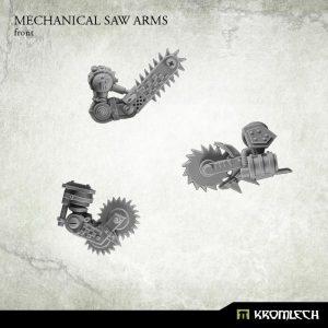 Kromlech   Orc Conversion Parts Mechanical Saw Arms (6) - KRCB154 - 5902216113435