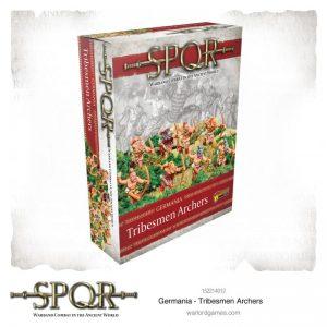 Warlord Games SPQR  SPQR SPQR: Germania Tribesmen Archers - 152214012 - 5060572505308
