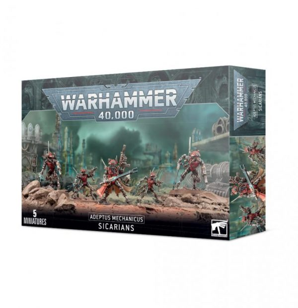 Games Workshop Warhammer 40,000  Adeptus Mechanicus Adeptus Mechanicus Sicarians - 99120116035 - 5011921155958