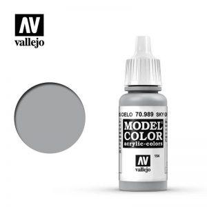Vallejo   Model Colour Model Color: Sky Grey - VAL989 - 8429551709897
