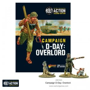 Warlord Games Bolt Action  Bolt Action Essentials Bolt Action Campaign: D-Day: Overlord - 409910045 - 9781472838964