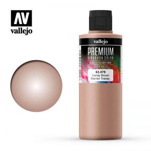 Vallejo   Premium Airbrush Colour AV Vallejo Premium Color - 200ml - Candy Brown - VAL63078 - 8429551630788