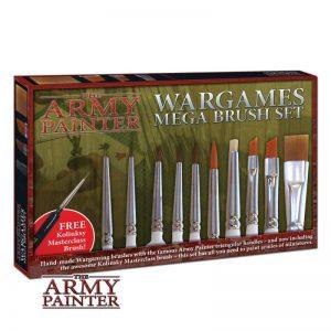 The Army Painter   Army Painter Brushes Mega Brush Set - APMEGABR - 2551131111113