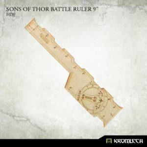 Kromlech   Tapes & Measuring Sticks Sons of Thor Battle Ruler 9in [HDF] (1) - KRGA070 - 5902216117358