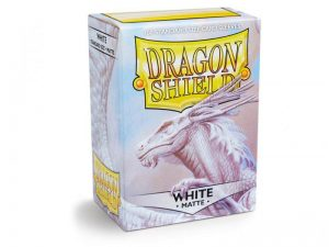 Dragon Shield   Dragon Shield Dragon Shield Matte Sleeves White (100) - DS100MW - 5706569110055