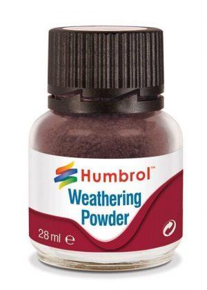 Humbrol   Weathering Powders Weathering Powder 28ml- Dark Earth - AV0007 - 5010279700087