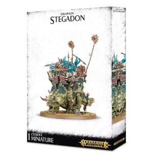 Games Workshop (Direct) Age of Sigmar  Seraphon Seraphon Stegadon / Engine of The Gods - 99120208020 - 5011921066360