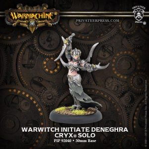 Privateer Press Warmachine & Hordes  Cryx Warcasters Cryx Warwitch Initiate Deneghra - PIP92045 - 875582023781