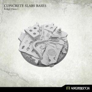 Kromlech   Concrete Slabs Bases Concrete Slabs Round 60mm [pattern 1] (1) - KRRB017 - 5902216116184