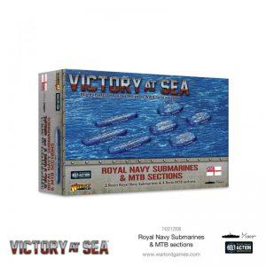 Warlord Games Victory at Sea  Victory at Sea Victory at Sea: Royal Navy Submarines & MTB sections - 743212006 - 5060572506800