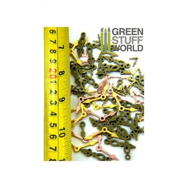 Green Stuff World   Modelling Extras SteamPunk CLOCK HANDS Beads - 8436554366750ES - 8436554366750