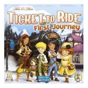 Days of Wonder Ticket to Ride  Ticket to Ride Ticket to Ride: First Journey Europe - DOW720027 - 824968200278