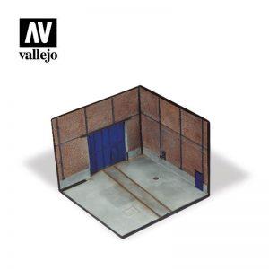 Vallejo   Vallejo Scenics Vallejo Scenics - Scenery: Factory Corner - VALSC116 - 8429551987066