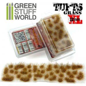 Green Stuff World   Tufts Grass TUFTS XL - 12mm self-adhesive - DRY BROWN - 8436554368815ES - 8436554368815