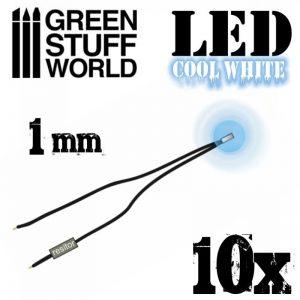 Green Stuff World   Lighting & LEDs LED Lights Cool White - 1mm - 8436554364787ES - 8436554364787