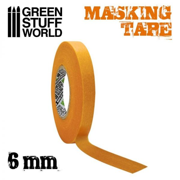 Green Stuff World   Airbrushes & Accessories Masking Tape - 6mm - 8436574505030ES - 8436574505030