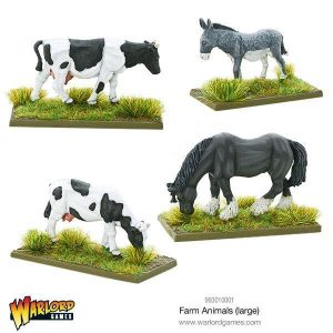 Warlord Games   Warlord Games Terrain Farm Animals (large) - 993010001 - 5060393706502