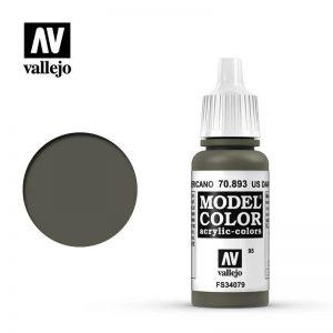 Vallejo   Model Colour Model Color: US Dark Green - VAL893 - 8429551708937