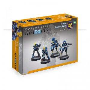 Corvus Belli Infinity  O-12 O-12 Raptor Boarding Squad - 282012-0874 - 2820120008742