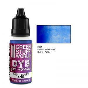 Green Stuff World   Resin Dye for Resins BLUE - 8436574507607ES - 8436574507607