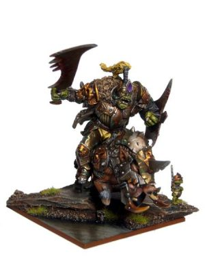 Mantic Kings of War  Orcs Orc Krudger on Gore - MGKWO203 - 5060469662985