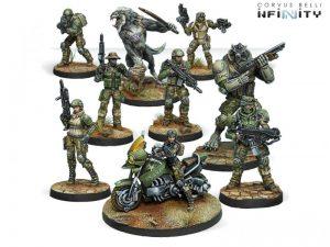 Corvus Belli Infinity  Ariadna USAriadna Army Pack - 280007-0540 - 2800070005404