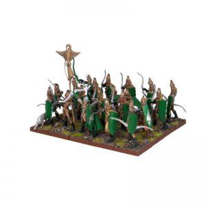 Mantic Kings of War  Elf Armies Elf Bowmen Regiment - MGKWE21-1 - 5060208860061