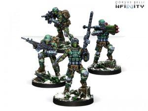 Corvus Belli Infinity  Ariadna Frontoviks, Assault Separated Bat - 281105-0765 - 2811050007653