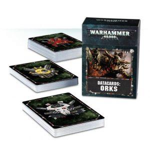 Games Workshop Warhammer 40,000  Orks Datacards: Orks - 60220103002 - 5011921101252