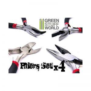 Green Stuff World   Green Stuff World Tools Complete Pliers Set - 8436554365548ES - 8436554365548