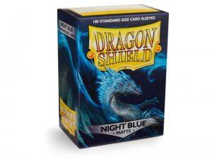 Dragon Shield   Dragon Shield Dragon Shield Sleeves Matte Night Blue (100) - DS100MNB - 5706569110420