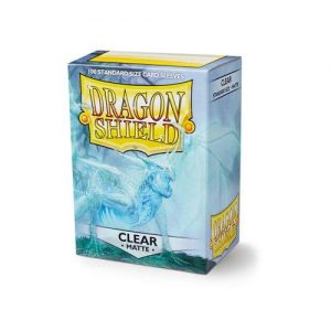 Dragon Shield   Dragon Shield Dragon Shield Sleeves Matte Clear (100) - DS100MCL - 5706569110017