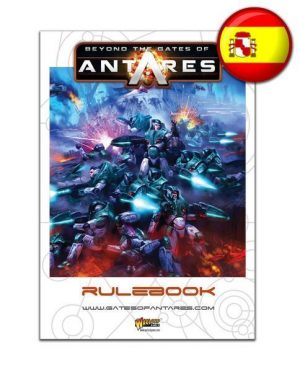 Warlord Games Beyond the Gates of Antares  SALE! Beyond the Gates of Antares Rulebook (Spanish) - WGA-07 - 5060393703266