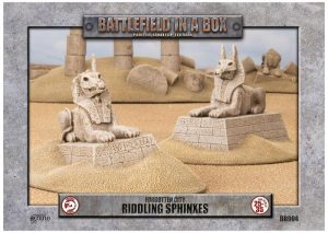 Gale Force Nine   Battlefield in a Box Forgotten City - Riddling Sphinxes - BB904 - 9420020218246