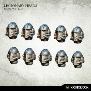 Kromlech   Legionary Conversion Parts Legionary Heads: Iron Pattern (10) - KRCB197 - 5902216115958