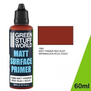 Green Stuff World   Surface Primers Matt Surface Primer 60ml - Red - 8436574502473ES - 8436574502473