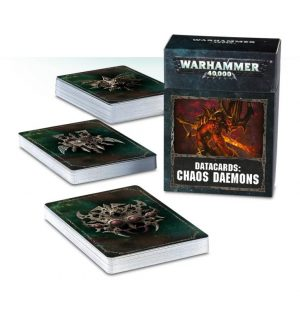 Games Workshop   Chaos Daemons Datacards: Chaos Daemons - 60220115003 - 5011921096503