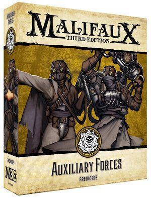 Wyrd Malifaux  Outcasts Auxiliary Forces - WYR23507 -