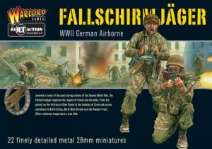 Warlord Games Bolt Action  Germany (BA) German Paras - Fallschirmjager (22) - WGB-FJ-01 -