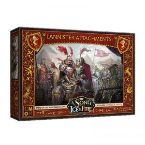 Cool Mini or Not A Song of Ice and Fire  House Lannister A Song of Ice and Fire: Lannister Attachments #1 - CMNSIF216 - 886969010261