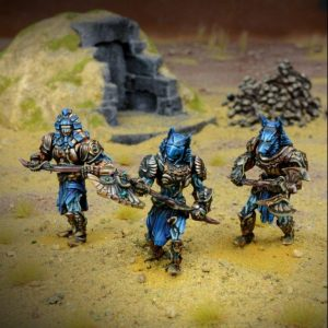Mantic Kings of War  Empire of Dust Empire of Dust Enslaved Guardian Regiment - MGKWT402 - 5060469660226