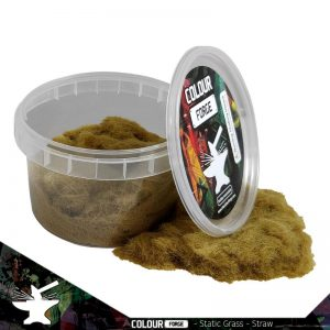 The Colour Forge   Sand & Flock Static Grass - Straw (275ml) - TCF-BAS-020 - 5060843101031