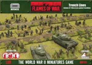 Gale Force Nine   Battlefield in a Box Flames of War: Trenchlines - BB131 - 9420020218208