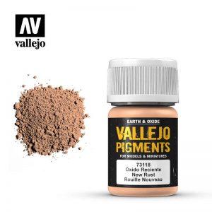 Vallejo   Pigments Vallejo Pigment - New Rust - VAL73118 - 8429551731188